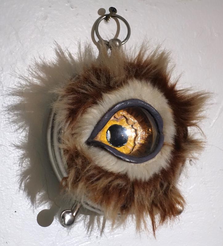 Furry Clock Eye