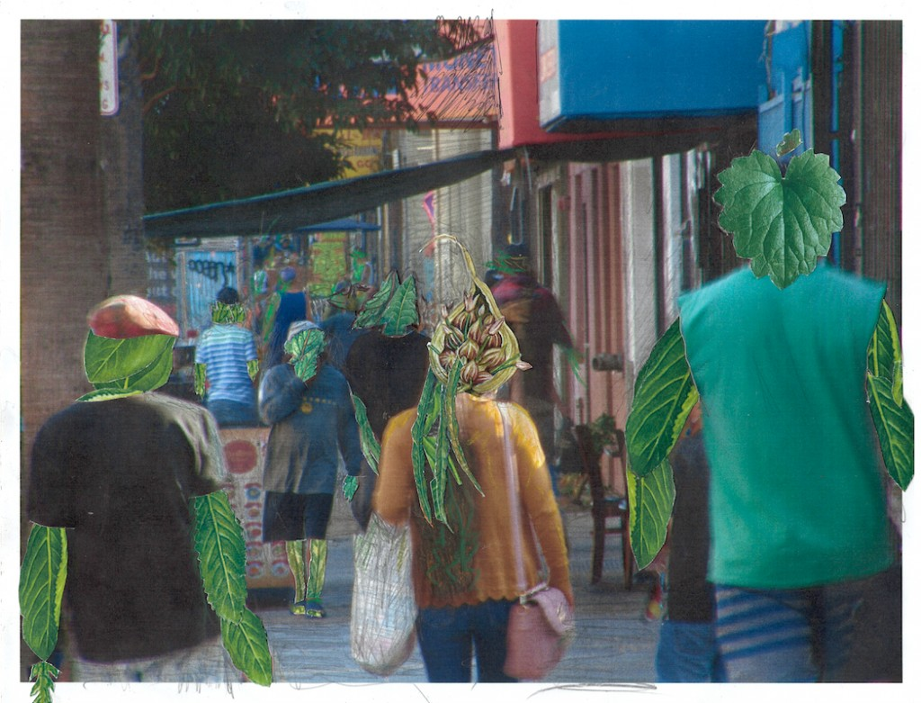 Street Scene -  8.5x11 Original Available-